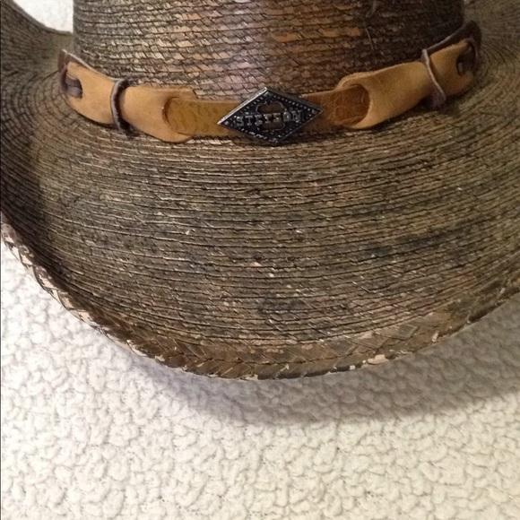 027aff199 Ladies rodeo dr Stetson straw cowboy hat